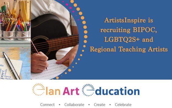 recruiting artists BIPOC-LGBTQ